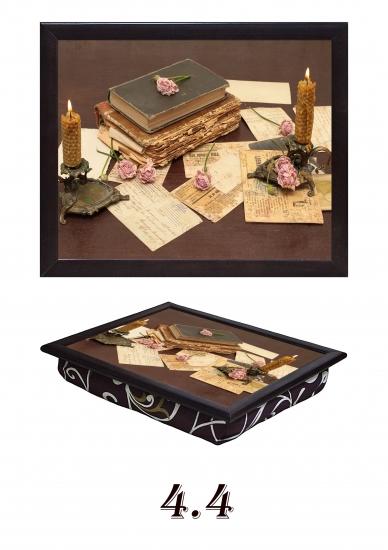 Фото - Поднос на подушке Винтаж купить в киеве на подарок, цена, отзывы