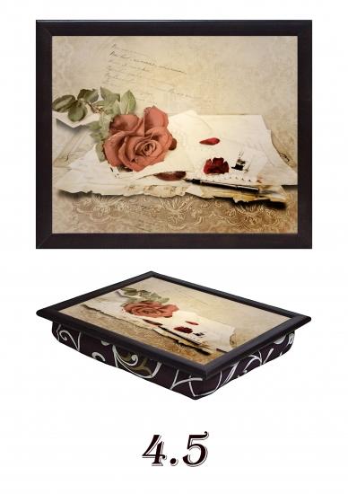 Фото - Поднос с подушкой Письмо любимой купить в киеве на подарок, цена, отзывы