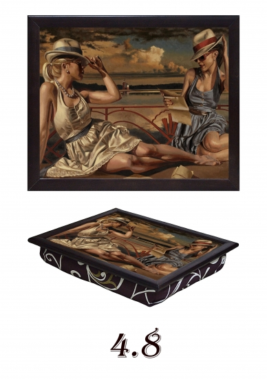 Фото - Поднос с подушкой Подруги купить в киеве на подарок, цена, отзывы