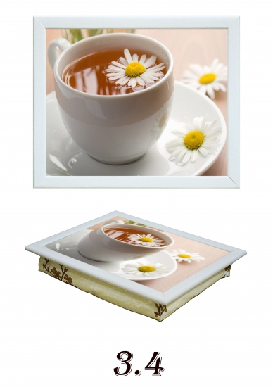 Фото - Поднос с подушкой чай с ромашкой купить в киеве на подарок, цена, отзывы