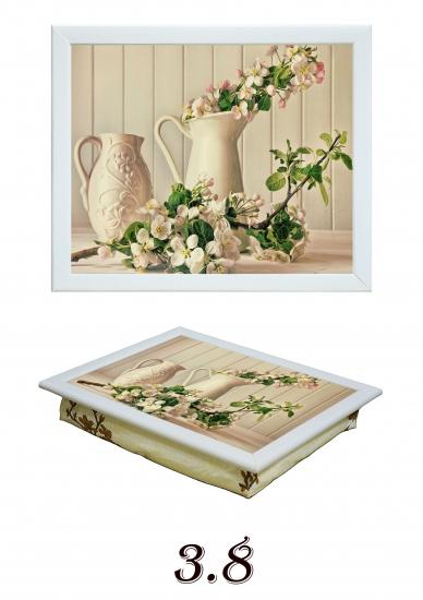 Фото - Поднос с подушкой Яблочный цвет купить в киеве на подарок, цена, отзывы