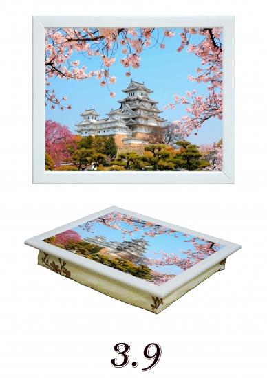 Фото - Поднос с подушкой Сакура купить в киеве на подарок, цена, отзывы