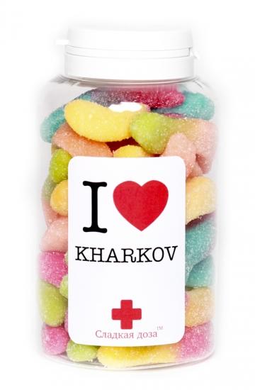 Фото - Сладкая доза I love Kharkov купить в киеве на подарок, цена, отзывы