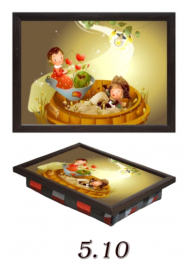 Фото - Мини поднос на подушке Детский купить в киеве на подарок, цена, отзывы