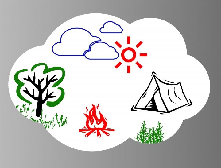 Фото - Магнитная доска для маркера Облако купить в киеве на подарок, цена, отзывы
