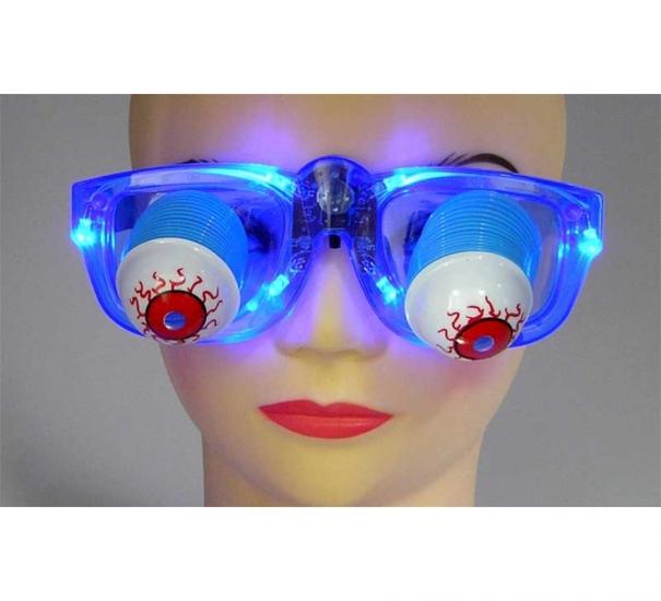 Фото - Очки с выпадающими глазами светящиеся купить в киеве на подарок, цена, отзывы