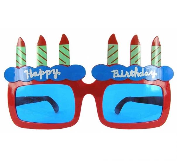 Фото - Очки - гигант Happy birthday купить в киеве на подарок, цена, отзывы