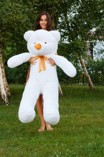 Фото - Мишка Тедди 140 см Белый купить в киеве на подарок, цена, отзывы