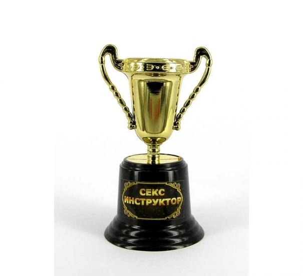 Фото - Кубок прикольный Секс инструктор купить в киеве на подарок, цена, отзывы