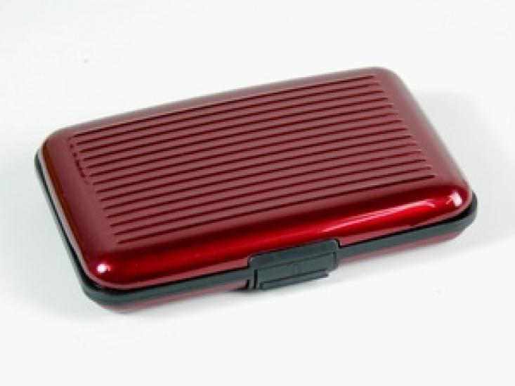 Фото - Портмоне для Визиток CORD Пурпурный купить в киеве на подарок, цена, отзывы