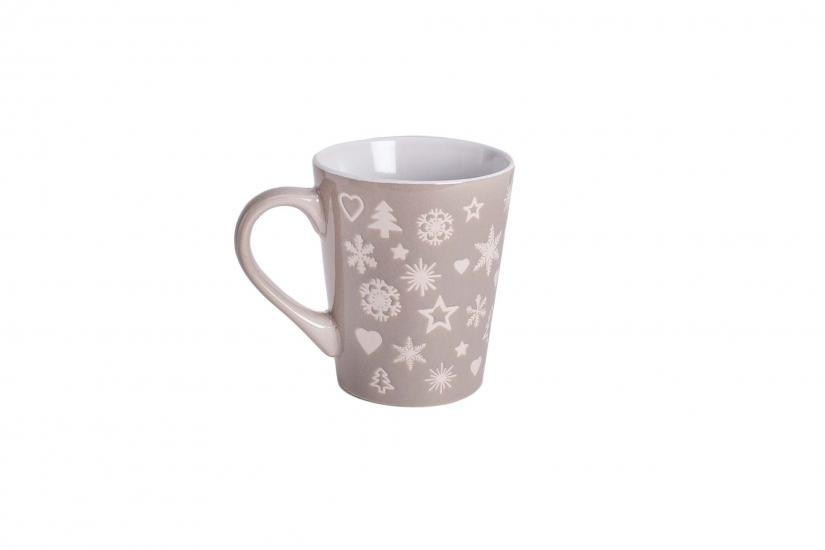 Фото - Новогодняя чашка Елочки-снежинки купить в киеве на подарок, цена, отзывы