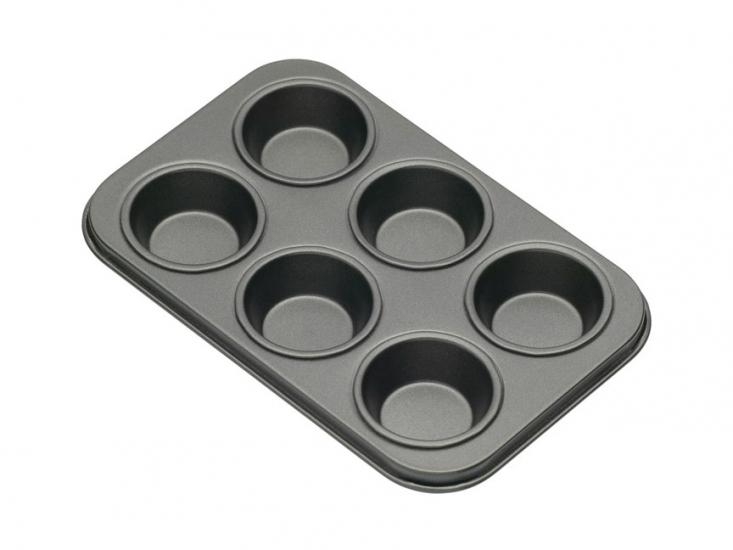 Фото - KC NS Формы для выпечки мини кексов 6 отверстий с антипригарным покрытием 15 см х 10 см 2 единицы купить в киеве на подарок, цена, отзывы