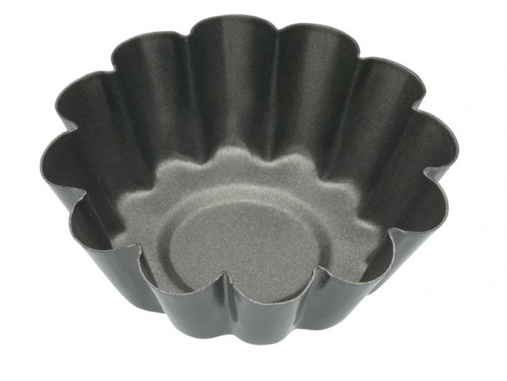 Фото - KC NS Формы для выпечки мини Корзинки рифленые с антипригарным покрытием 6см 4 единицы купить в киеве на подарок, цена, отзывы