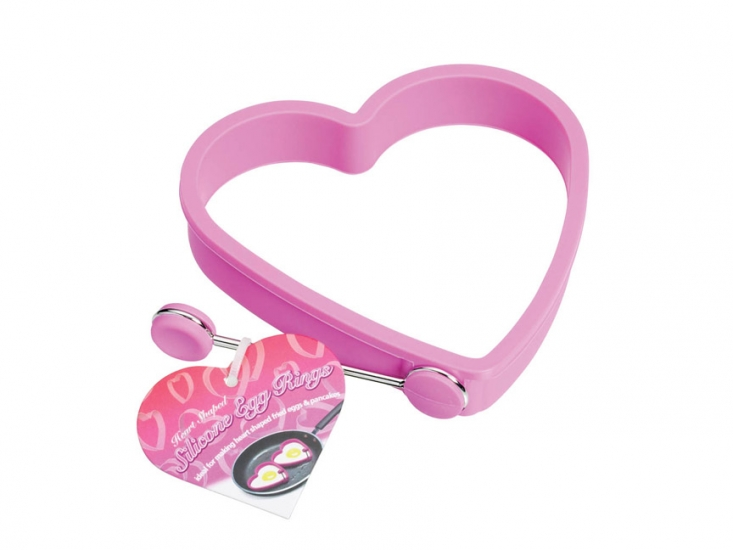 Фото - KC Форма для яичницы силиконовая Сердце купить в киеве на подарок, цена, отзывы