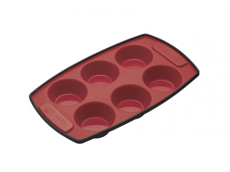 Фото - MC SS Форма для выпечки кексов 6 отверстий силиконовая 30см х 18см купить в киеве на подарок, цена, отзывы