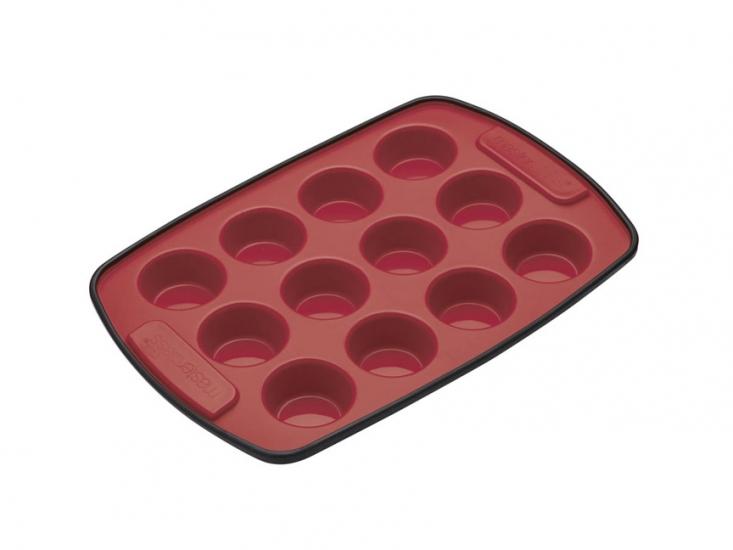Фото - MC SS Форма для выпечки мини кексов 12 отверстий силиконовая 29см х 20см купить в киеве на подарок, цена, отзывы