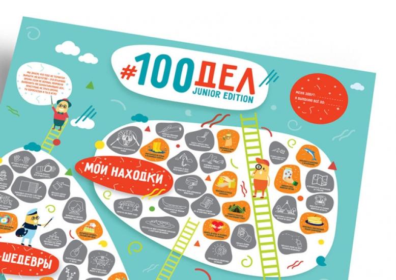 Фото - Постер 100 дел Junior купить в киеве на подарок, цена, отзывы