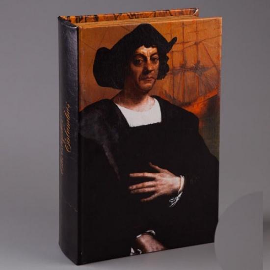 Фото - Книга сейф Христофор Колумб купить в киеве на подарок, цена, отзывы