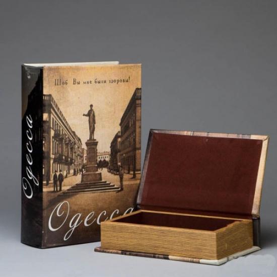 Фото - Книга шкатулка Одесса купить в киеве на подарок, цена, отзывы