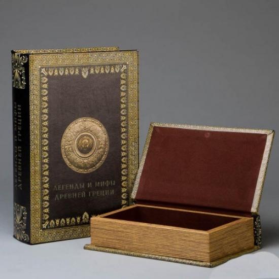 Фото - Книга шкатулка Легенды и Мифы Греции купить в киеве на подарок, цена, отзывы