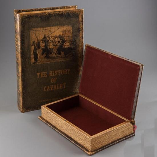 Фото - Книга шкатулка История Кавалерии купить в киеве на подарок, цена, отзывы