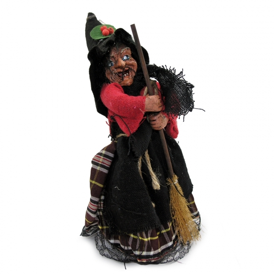 Фото - Фигурка Баба Яга 25 см купить в киеве на подарок, цена, отзывы