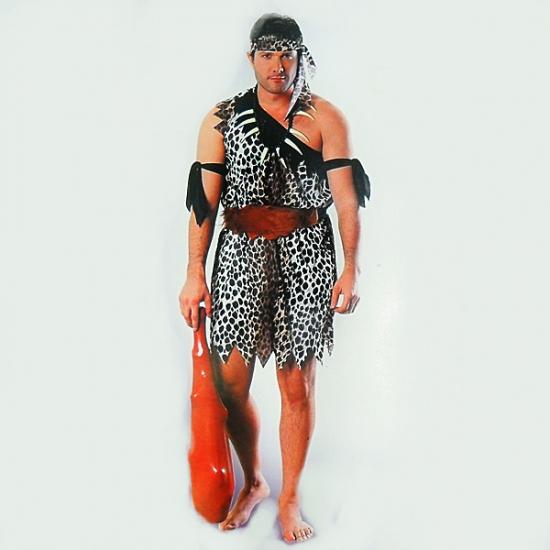 Фото - Взрослый карнавальный костюм Первобытный Мужчина купить в киеве на подарок, цена, отзывы