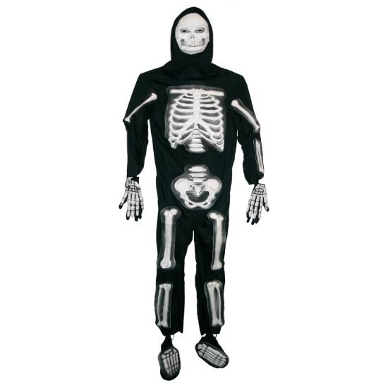 Фото - Взрослый карнавальный костюм Скелет купить в киеве на подарок, цена, отзывы