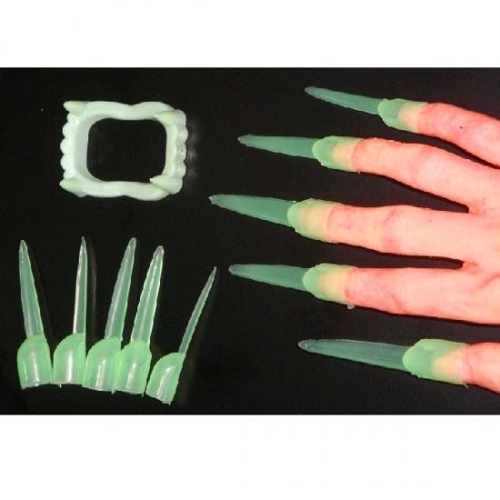 Фото - Зубы и когти светонакопительные купить в киеве на подарок, цена, отзывы