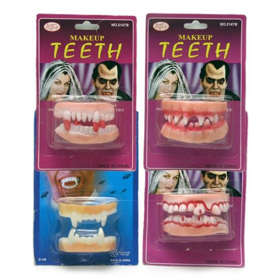 Фото - Двойные резиновые зубы купить в киеве на подарок, цена, отзывы