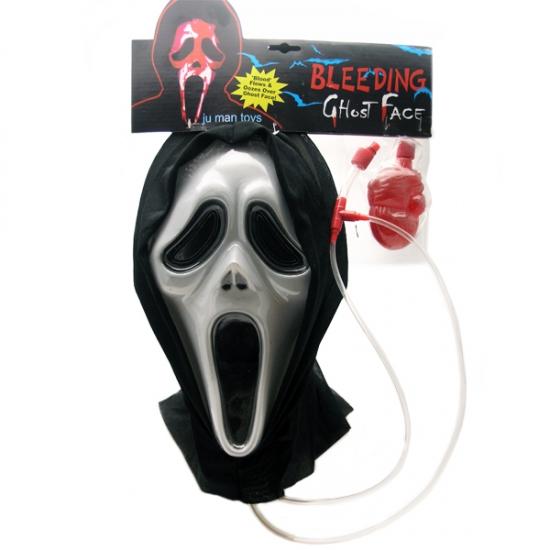 Фото - Пластиковая маска Крик с кровью купить в киеве на подарок, цена, отзывы