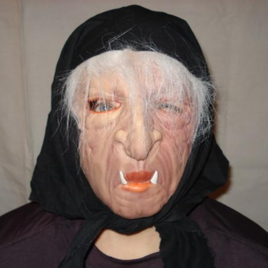 Фото - Резиновая маска Баба Яга купить в киеве на подарок, цена, отзывы