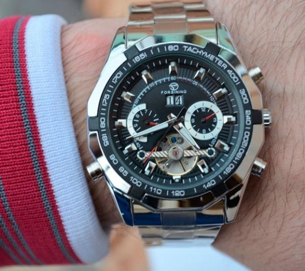 e942eda365df ... отзывы · фото 14574 Мужские классические часы Forsining Texas цена,  отзывы