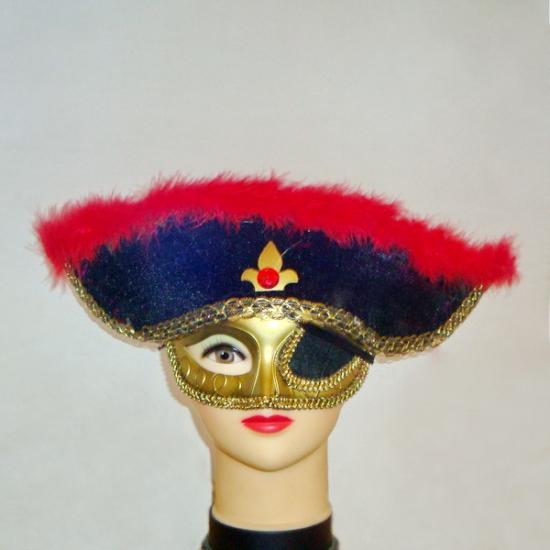 Фото - Маска-шляпа Пиратская купить в киеве на подарок, цена, отзывы