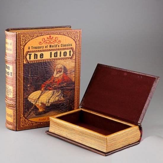 Фото - Книга шкатулка Идиот купить в киеве на подарок, цена, отзывы