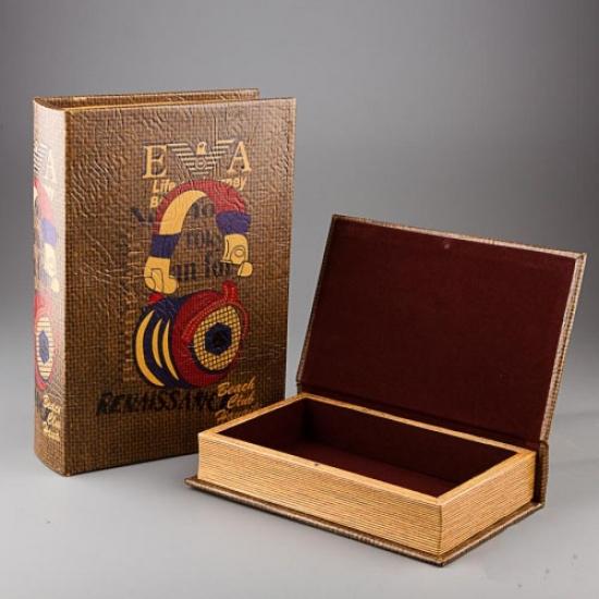 Фото - Книга шкатулка Наушники купить в киеве на подарок, цена, отзывы