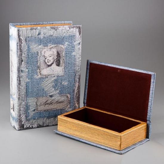 Фото - Книга шкатулка Мерлин Монро купить в киеве на подарок, цена, отзывы