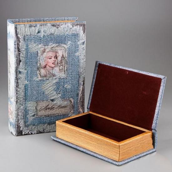 Фото - Книга шкатулка Дева Монро купить в киеве на подарок, цена, отзывы