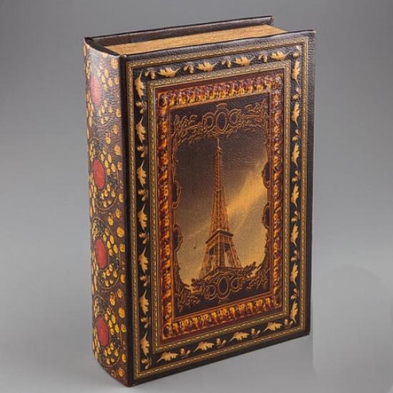 Фото - Книга шкатулка Париж купить в киеве на подарок, цена, отзывы
