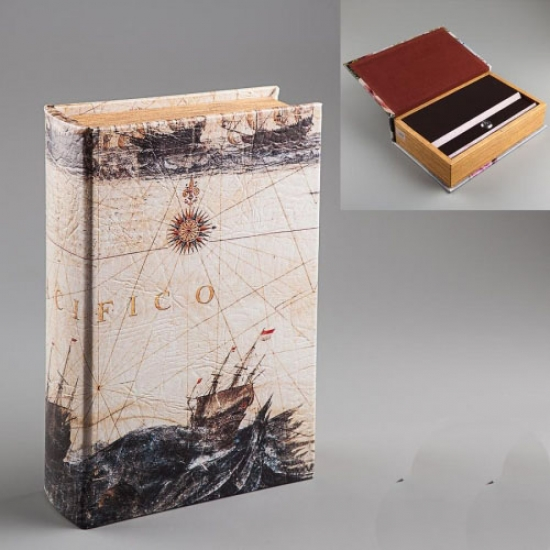 Фото - Книга шкатулка Буря в море купить в киеве на подарок, цена, отзывы