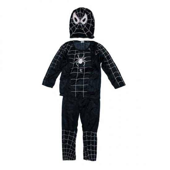 Фото - Детский карнавальный костюм Спайдермен чёрный купить в киеве на подарок, цена, отзывы