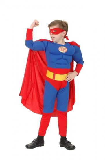 Фото - Детский карнавальный костюм Супермен Объёмный купить в киеве на подарок, цена, отзывы