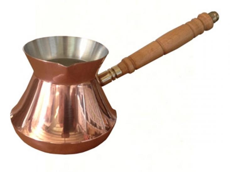 Фото - Турка медная Эфиопия 380 мл купить в киеве на подарок, цена, отзывы