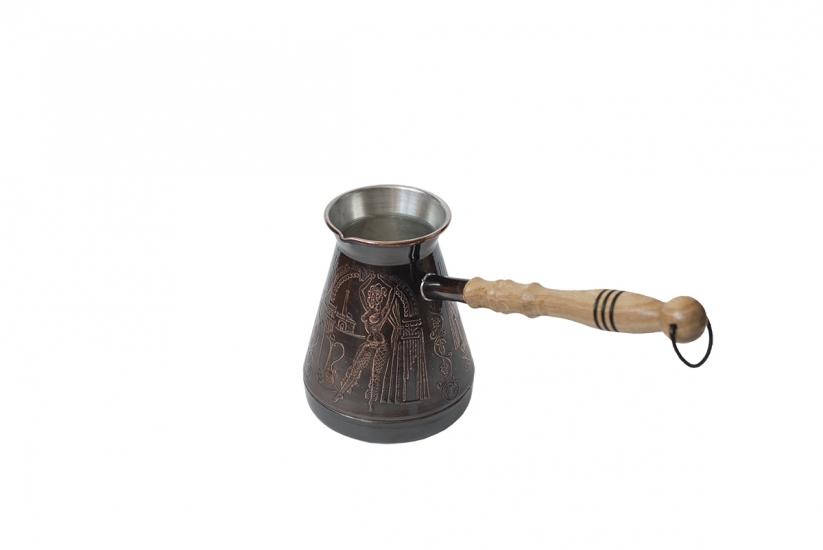 Фото - Турка медная Султан 500 мл купить в киеве на подарок, цена, отзывы