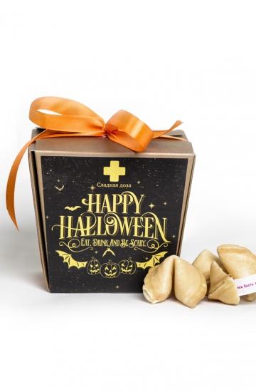 Фото - Печенье с предсказаниями Halloween купить в киеве на подарок, цена, отзывы