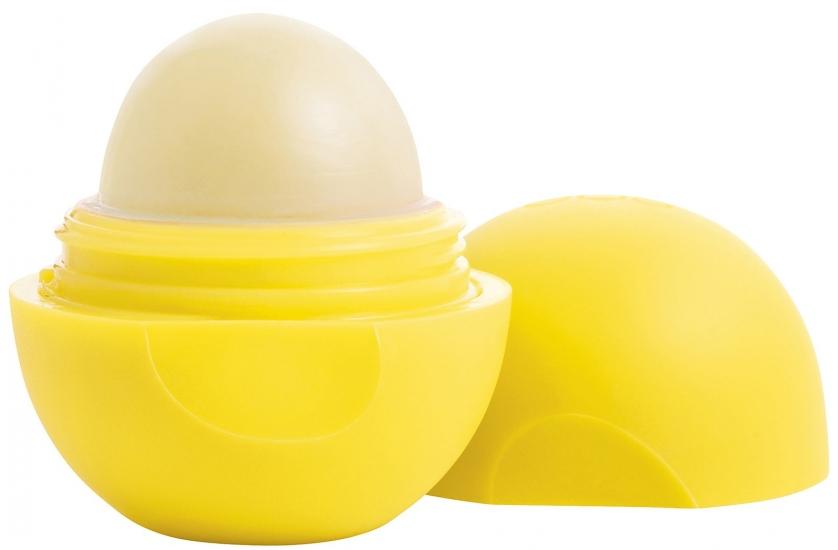 Фото - Бальзам для губ EOS Smooth Sphere Lip Balm Lemon Drop SPF15 (Лимон) купить в киеве на подарок, цена, отзывы