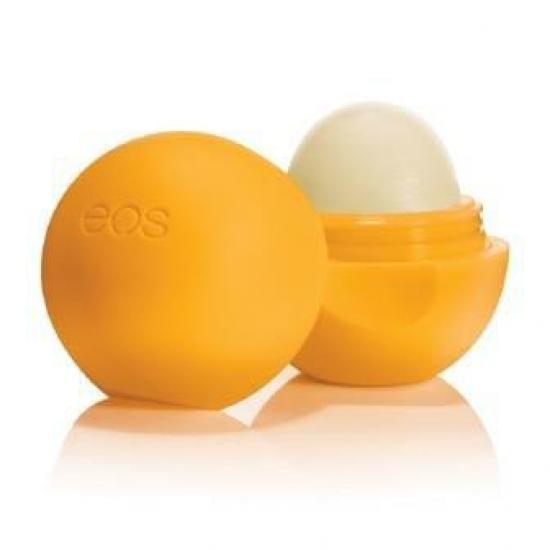 Фото - Бальзам для губ EOS Smooth Sphere Lip Balm Medicated Tangerine (Мандарин) купить в киеве на подарок, цена, отзывы