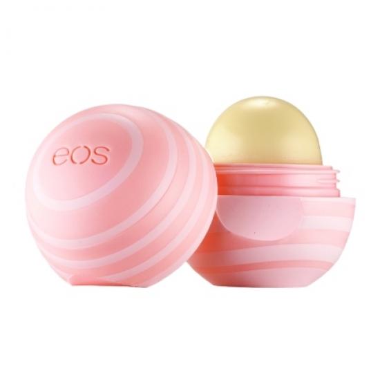 Фото - EOS Visibly Soft Sphere Lip Balm Coconut Milk (Кокосовое молочко) купить в киеве на подарок, цена, отзывы