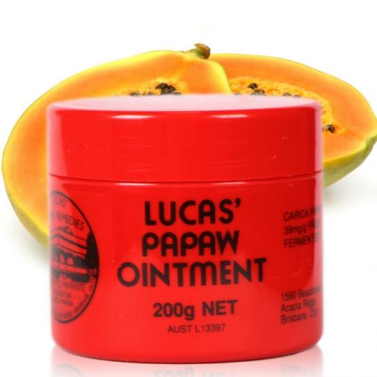 Фото - Восстанавливающий лечебный бальзам для губ и кожи Lucas Papaw Ointment 200 г купить в киеве на подарок, цена, отзывы