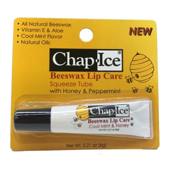 Фото - Бальзам OraLabs Chap Ice Beeswax Lip Care 6 г купить в киеве на подарок, цена, отзывы
